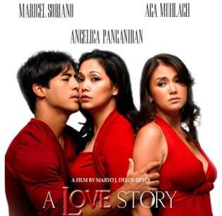 A Love Story -- (DVD)