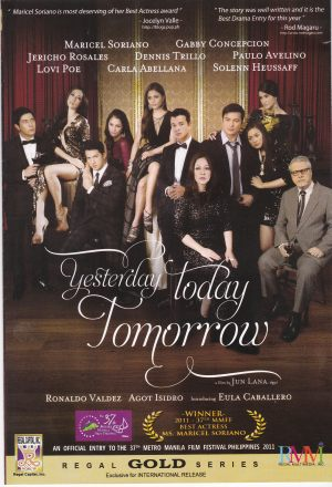 Yesterday Today Tomorrow -- DVD